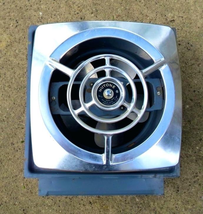nutone vintage exhaust fan exhaust