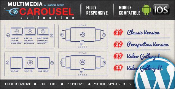 Multimedia Responsive Carousel WordPress Plugin - CodeCanyon Item for Sale
