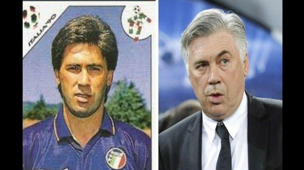 Fue tecero con la Seleccion de Italia en los 90, ahora es coach del Real Madrid.  March 23, 2014
