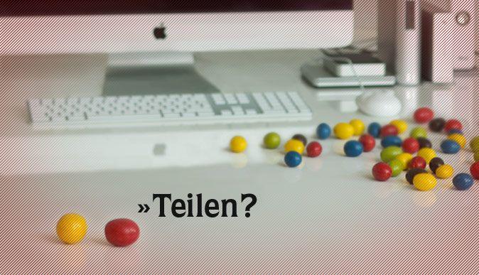 Wer teilt, hat mehr – #Jobs in #Waiblingen – #mskmedia #Werbeagentur http://www.msk-media.com/jobs/ #Jobangebot #Stelle #Smarties #teilen #Design #Arbeitsplatz