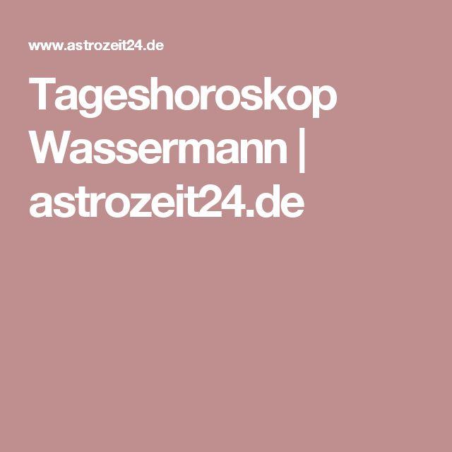 Tageshoroskop Wassermann | astrozeit24.de