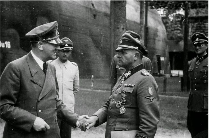 World War II Pictures In Details: Sepp Dietrich Received by Hitler