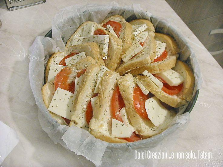 torta salata caprese