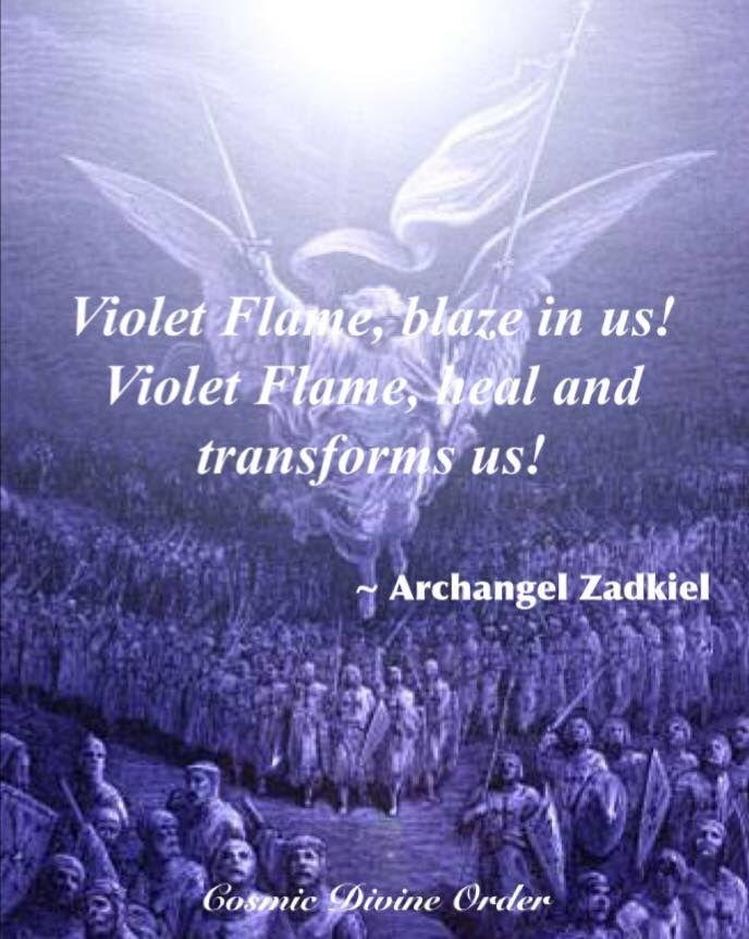 17 Best Archangel Zadkiel Cosmic Divine Order Images On Pinterest