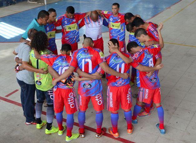 #GremioSamario siempre de la mano con la confianza en Dios. #Futsal #LigaArgos