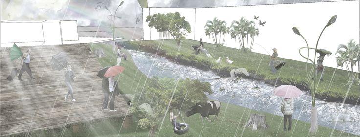 Lupa proyecto Recuperación de la Quebrada Egoya en la Ciudad de Pereira