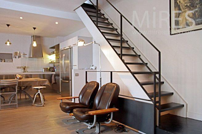 Les 25 meilleures id es de la cat gorie escalier meunier sur pinterest escalier de meunier - Escalier de meunier ...