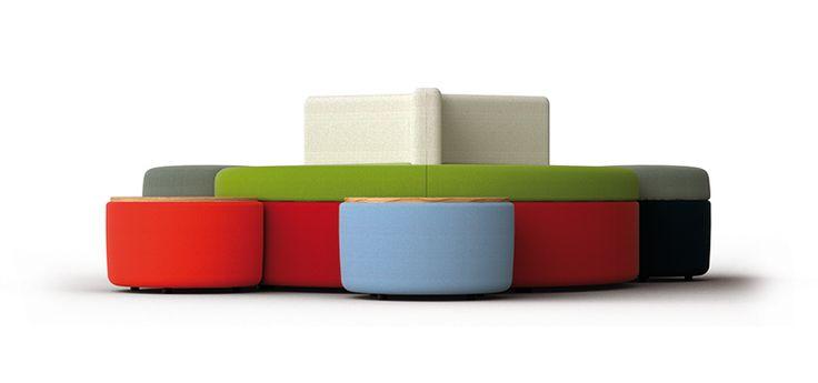 LAMM -Colorful Tender Pouf - design @Favaretto&Partners #design #pouf
