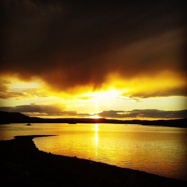 Enjoy for ever daylight. Summer 24/7. Midnight sun. Have fun or just slow down and see the world. Sorsele in Swedish Lapland. #midnightsun