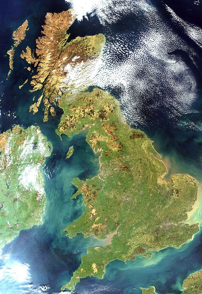 Great Britain, United Kingdom– 209,331km2(80,823 sq ml) is the largest European island and the largest of the British Isles. With a population of about 62million people it is the third most populous island in the world