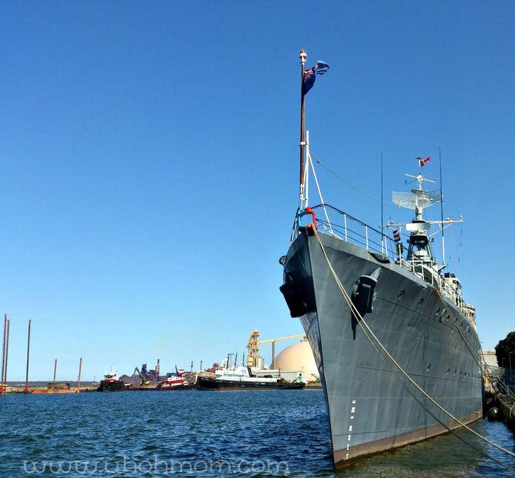 Tour the HMCS Haida
