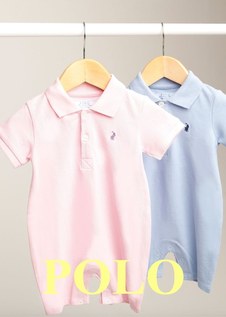 Dress baby up in these adorable Alex shortsleeve babygros from @POLOSouthAfrica!