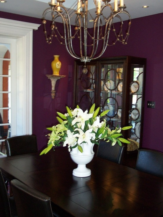 1000 images about dining room on pinterest purple for Aubergine bathroom ideas