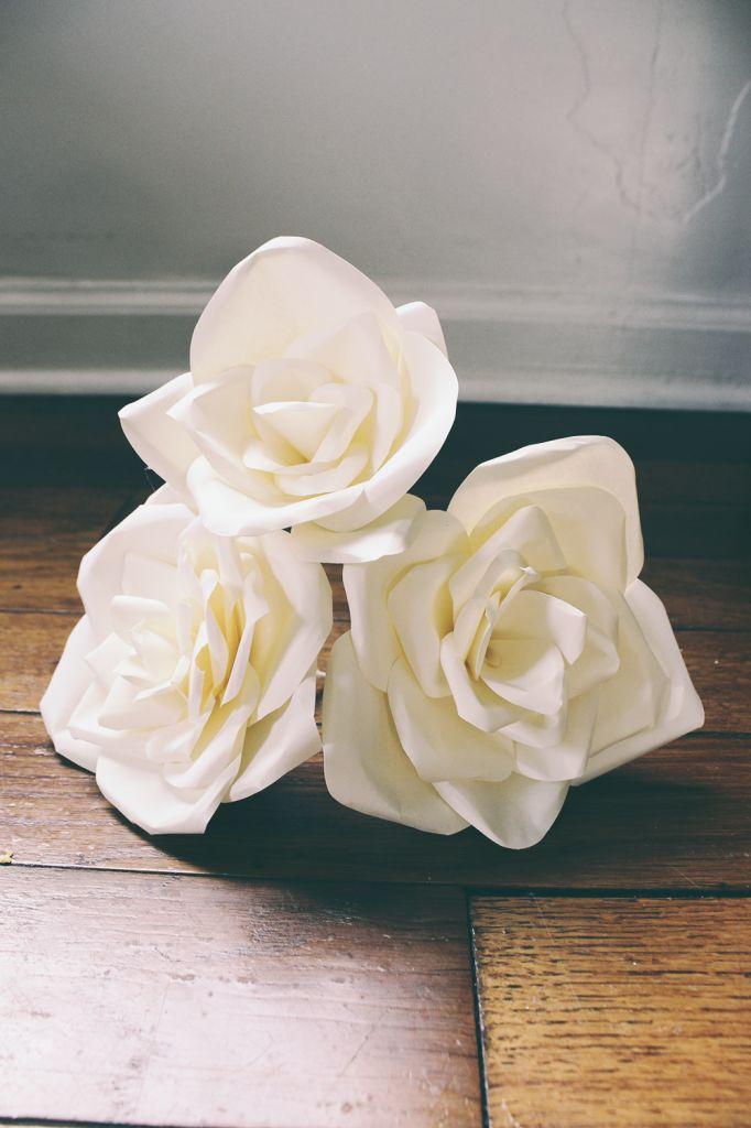 DIY Paper Flowers Tutorial