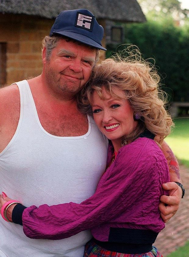 """""""Keeping Up Appearances"""" - Rose & Onslow portrayed by Mary Millar and Geoffrey Hughes. RIP - both actors."""