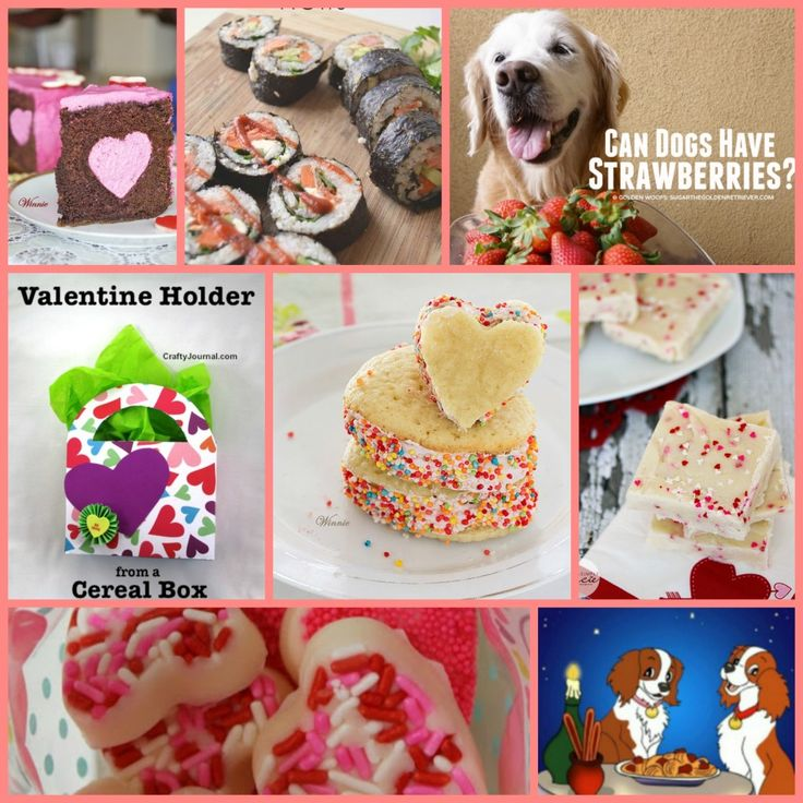 Inspire Us Tuesdays – Valentine Inspiration Featuring Heart Mousse Cake, Whoppie Pies, Upcycled Valentine's Day Box, Raspberry Shortbread Cookies, White Chocolate Valentine Hearts, Fudge, and for Dinner Maple Salmon Sushi Rolls!