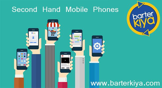 Are you looking for a second hand mobile phones? Please sign-up in www.barterkiya.com and find the one for you Barterkiya – India's No.1 Bartering website.