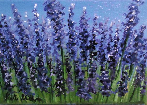 lavender painting - photo #23