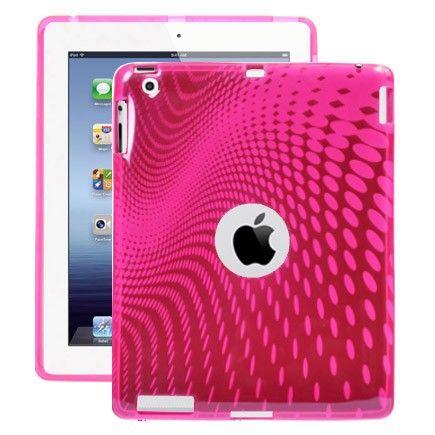 Electron Wave (Pink) iPad 3 / iPad 4 Cover