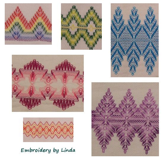 Huck Weaving or Huck Embroidery (aka Swedish weaving for some reason)