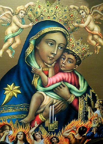 Madonna del Carmine (La Bruna), Napoli, via Flickr.