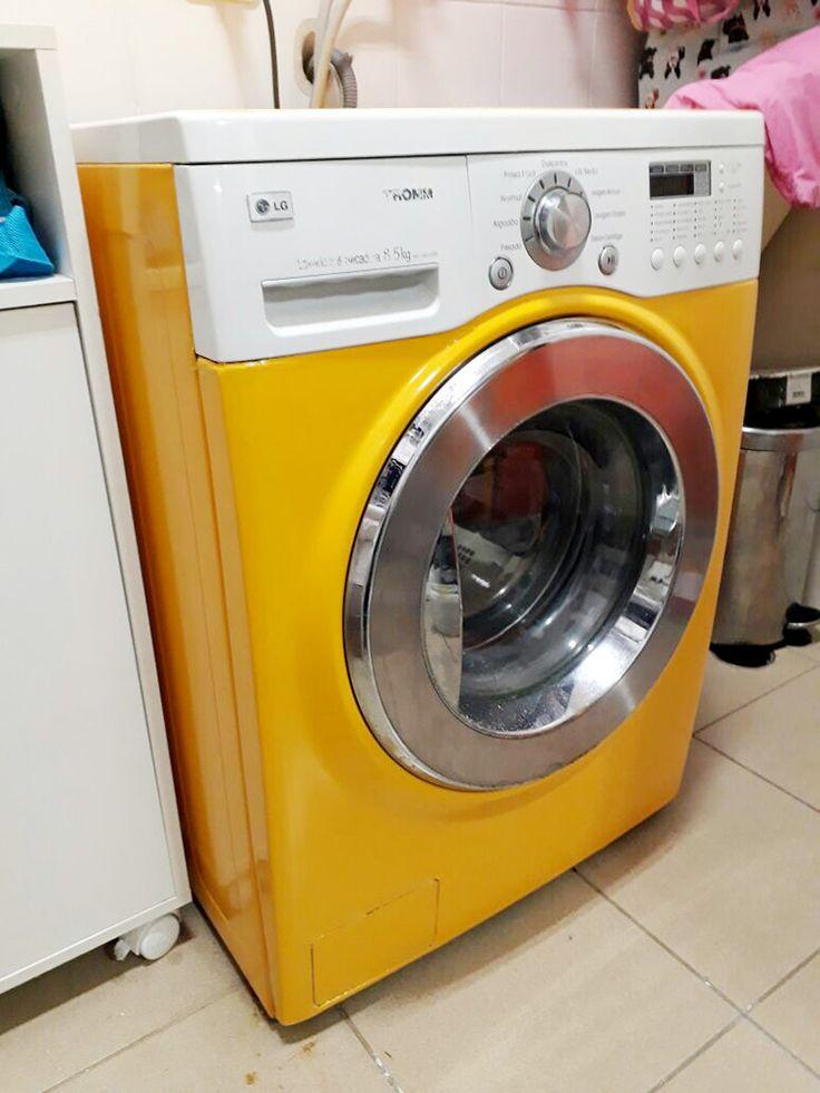 Envelopamento de geladeira em cores lisas, foscas e aço escovado. Decore sua geladeira também com adesivos em recorte!