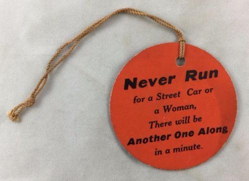 Antique-Peerless-Flour-Advertising-Miamisburg-Ohio-Joke-Humor-Car-Woman