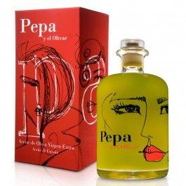 "Aceite de Oliva Virgen Extra ""Pepa y el Olivar"" by Pepa 500 ml / Extra Virgin Olive Oil ""Pepa y el Olivar"""
