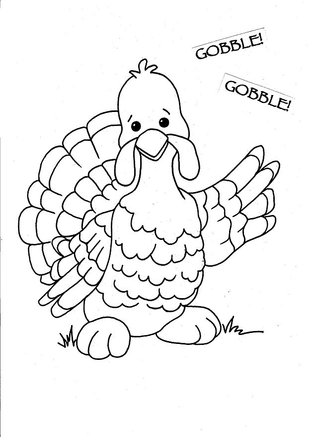 Thanksgiving Abstract Coloring Pages : Thanksgiving turkey to color coloring pages pinterest