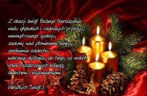 Znalezione obrazy dla zapytania życzenia bożonarodzeniowe do kartki świątecznej