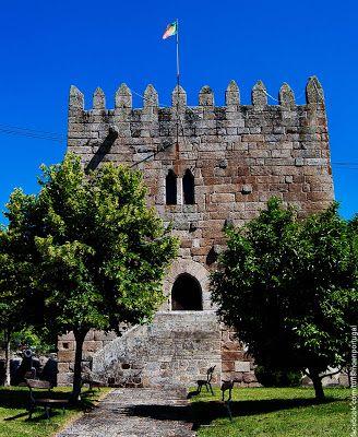 Castelo de Santo Estevao, Chaves, Vila Real, Portugal.
