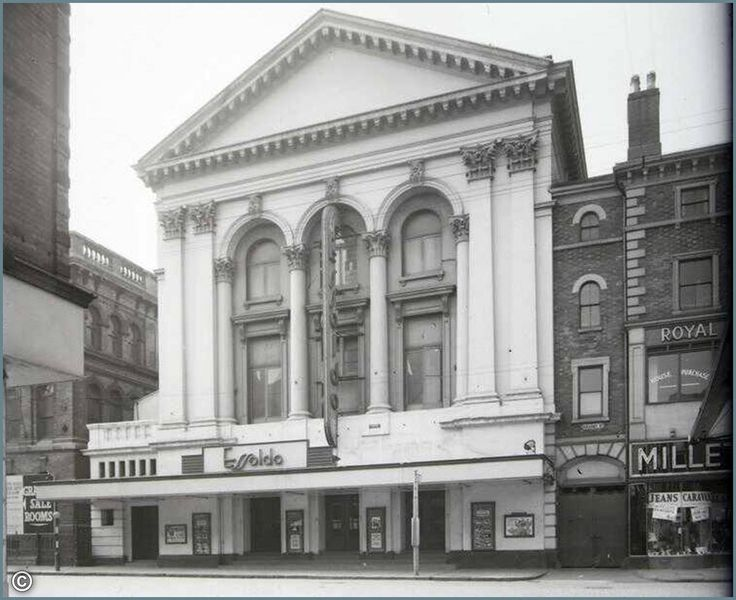 Essoldo Cinema, Granby Street. Demolished.