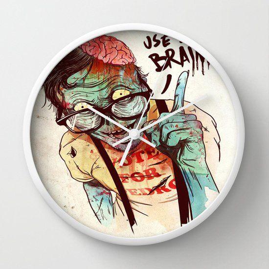 USE YOUR BRAIN WALL CLOCKS 1KKvQuM