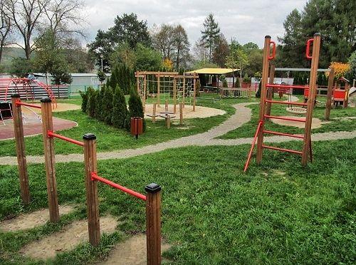 Plac zabaw w Gamracie w Jaśle
