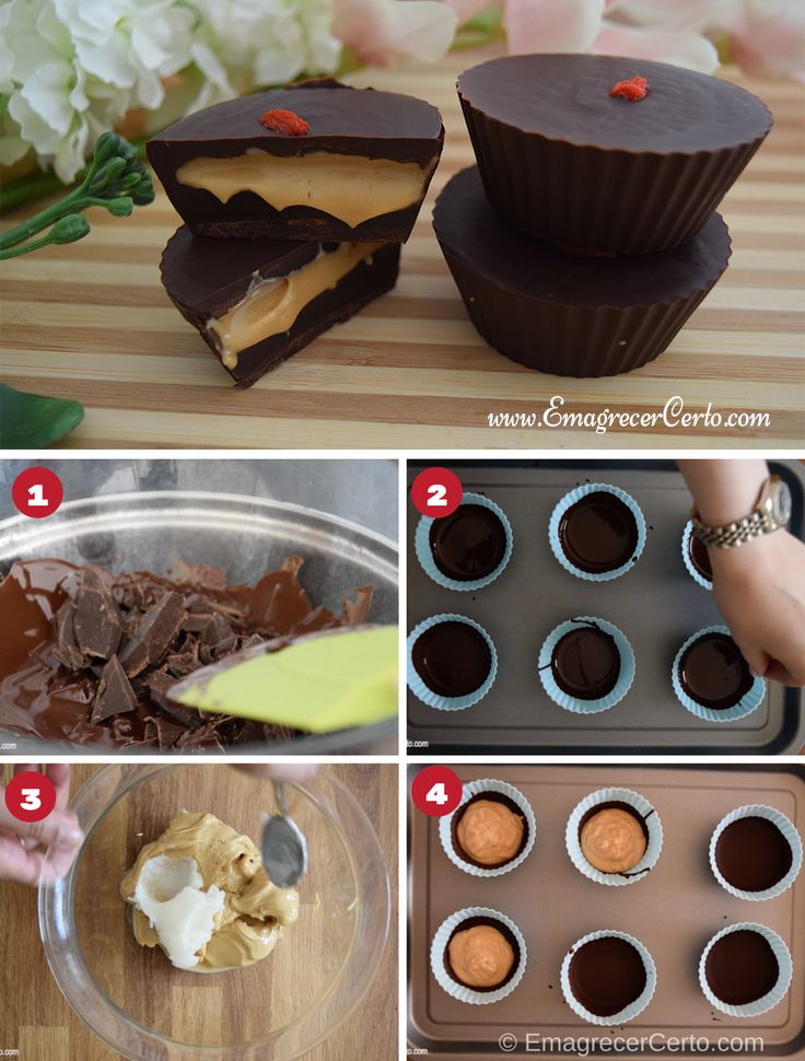 chocolate com paçoca cremosa