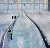 Wind farms installed at sea reportedly generate 40% more energy than those on land, and with that in mind, Siemens is currently constructing the world's largest wind turbines blades in order to help Dong Energy generate as much wind power as possible.    Read more: Siemens Creates the World's Largest Turbine Blades for new UK Wind Farm! | Inhabitat - Sustainable Design Innovation, Eco Architecture, Green Building