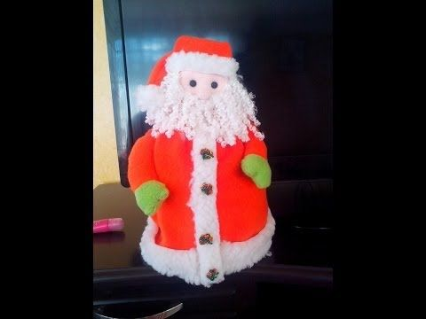 Cubre Rollo Papa Noel - YouTube