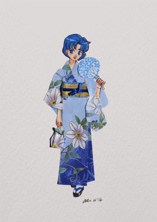 Sailor Moon origami art by Da Imaginarium