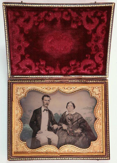 Retrato de un matrimonio. Museo del Romanticismo (Madrid)