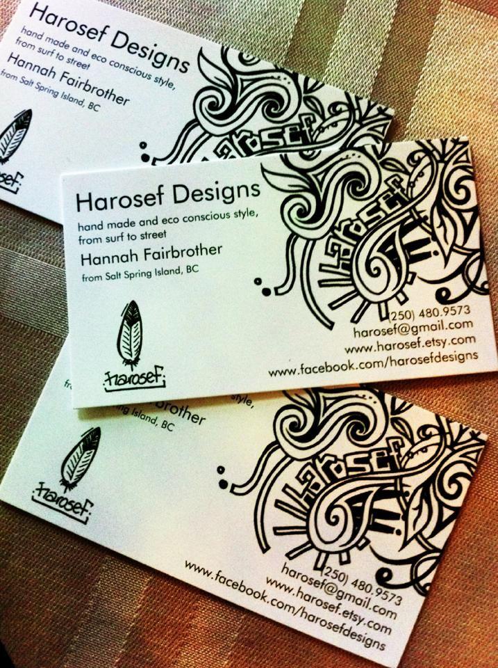 Harosef designs, Salt Spring Island, BC