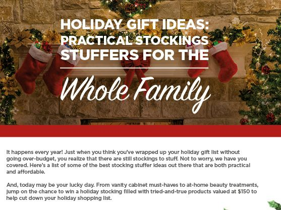 How's it going with the Christmas shopping? I started so long ago, then thought long ago I was done. Then, I started wrapping and realized that I missed some gaps in there. I shouldn't be surprised, it happens every year! Just when you think you've wrapped up your last holiday gift without going over-budget, you …