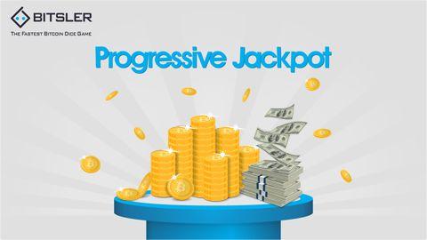 Progressive Jackpot - Will you be the next winner at Bitsler?