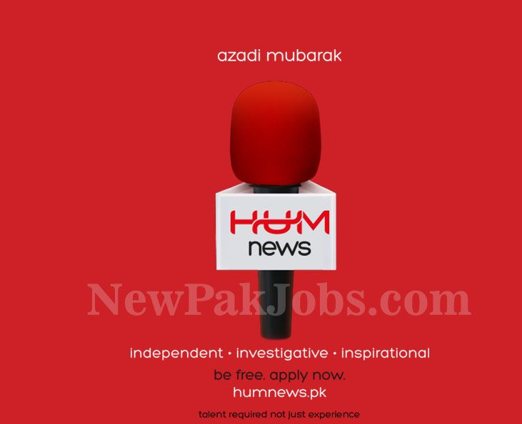 """Jobs in Humnews.pk new Channel of Hum TV in every department Online Apply No Experience Required http://ift.tt/2wHLTIq   HUM TV is very famous channel of Pakistan abou its dramas. Now HUM TV is going to launch its news channel with the name of """"HUMNEWS"""" so HUM TV has required fresh & Experienced staff for its new channel from all Pakistan.  HUM NEWS Channel is looking for staff  Last Date:  Apply as   soon as Possible  Location:  All   Pakistan  Posted   on:  27 Aug   2017  Category…"""