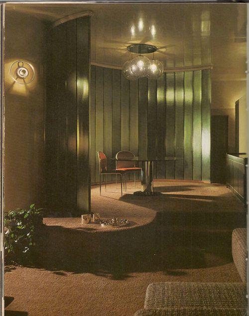 138 best 1970 39 s interior design images on pinterest for Modern retro interior