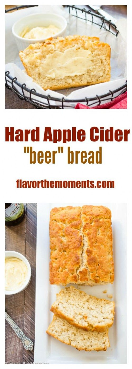 "Hard Apple Cider ""Beer"" Bread 