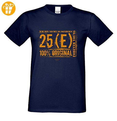 Zum 30. Geburtstag / Herren Geburtstags-tshirt / Mega Geschenke-Idee in allen Größen von S-5XL / Print: Ich bin nicht 30 Farbe: navy-blau Gr: L (*Partner-Link)