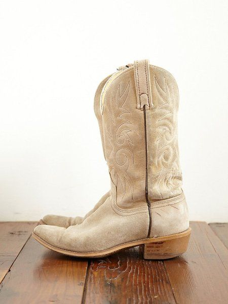 Vintage Cowboy Boots - Lyst