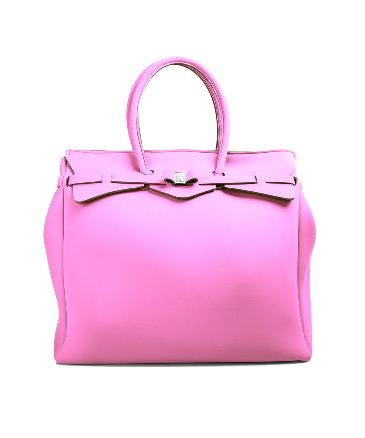 The Miss Weekender is your go-to bag for the perfect weekend away! This versatile tote transitions to a gym, beach or baby bag and is perfect for the jet-set who want to travel in style.  Size  440 x 400 x 200 mm  614g  Made in Italy  Vegan Friendly  Made from Poly-Lycra Fabric   Bubblegum Pink