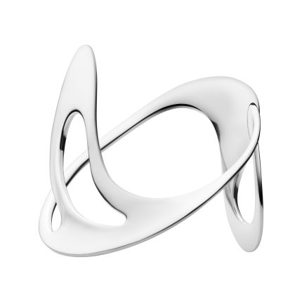 D bangle from Georg Jensen | sterling silver