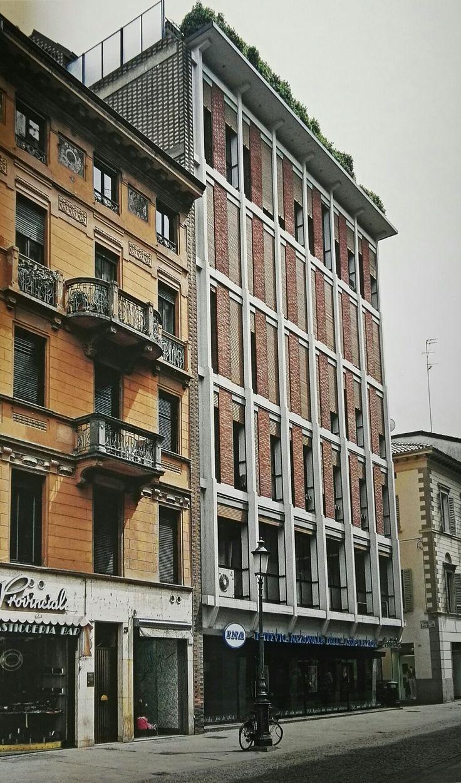 Franco Albini, Edificio per uffici dell'Ina, Parma